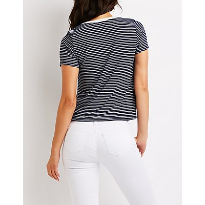 Striped Skimmer Tee