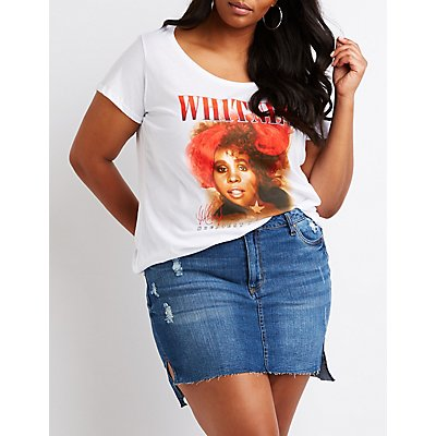 Plus Size Whitney Houston Tee