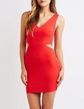 Cut Out Bodycon Dress