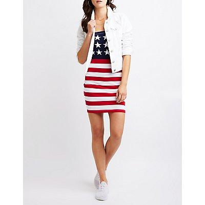 American Flag Mini Dress