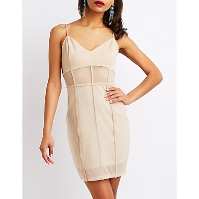 Mesh Bodycon Dress