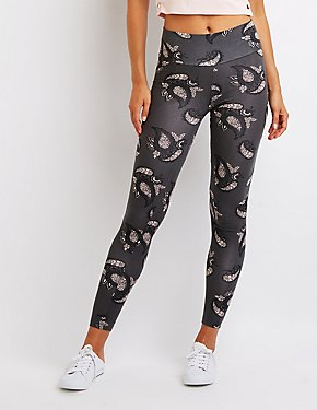 Paisley High Rise Leggings