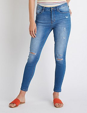 High Waist Push Up Jeans