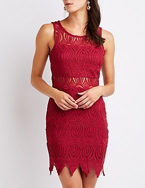 Crochet Bodycon Dress