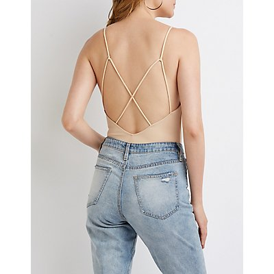 Plunging V-Neck Bodysuit