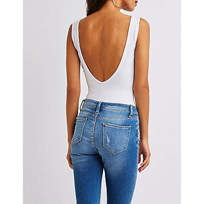 Scoop Back Bodysuit
