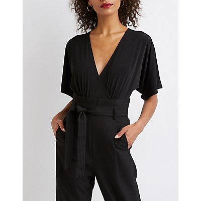 Flutter Sleeve V-Neck Bodysuit