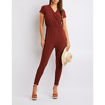 Wrapped Open Back Jumpsuit