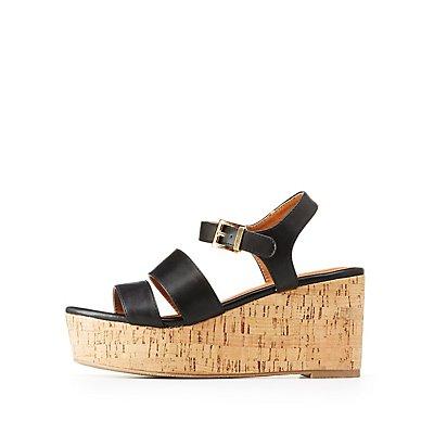 Ankle Strap Platform Sandals