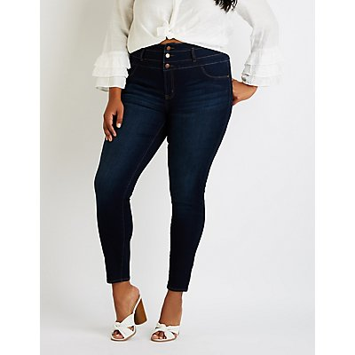 Plus Size Refuge High Waist Skinny Jeans