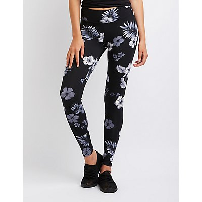 Floral Brushed Leggings