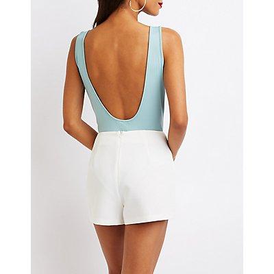 Scoop Back Bodysuit