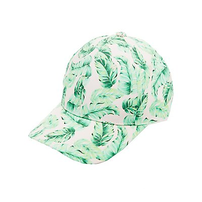 Palm Print Baseball Hat