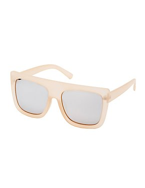 Frosted Shield Sunglasses