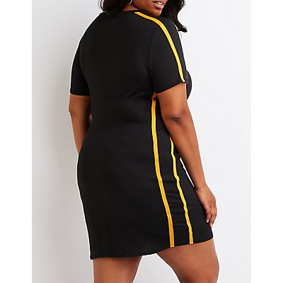 Plus Size Honey T-Shirt Dress