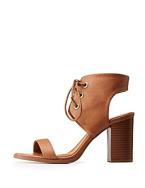 Lace Up Ankle Wrap Sandals