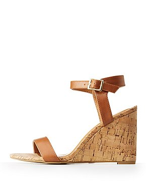 Plus Size Knot Cut Out Flat Heel Ankle Strap Sandals - LIGHT BROWN Clearance Inexpensive Aaa Quality Free Shipping Release Dates xxA66