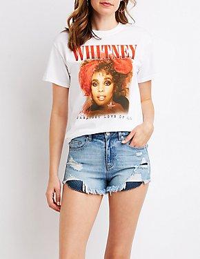 Whitney Houston Graphic Tee