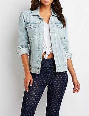 Refuge Boyfriend Denim Jacket