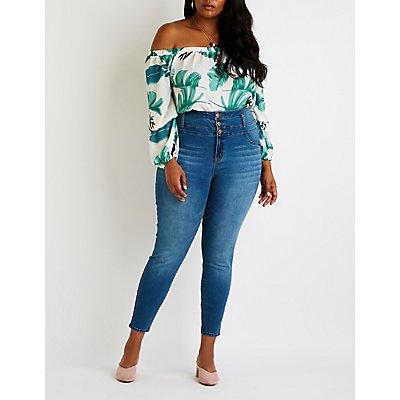 Plus Size Refuge Hi Rise Skinny Jeans