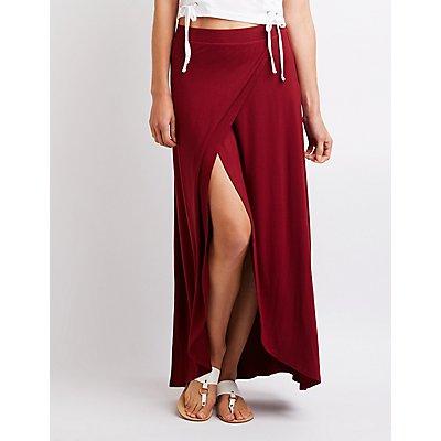 Wrap Maxi Skirt