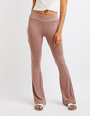 High Rise Flare Pants