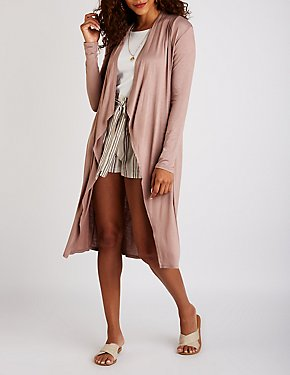 Open Front Duster Cardigan