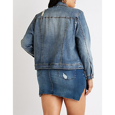 Plus Size Refuge Denim Jacket