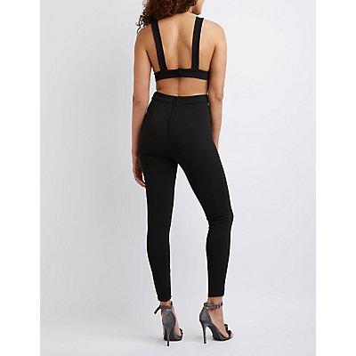 Open Back Jumpsuit