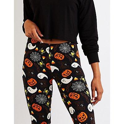 Printed Halloween Leggings