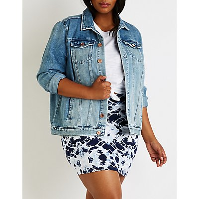 Plus Size Refuge Classic Denim Jacket