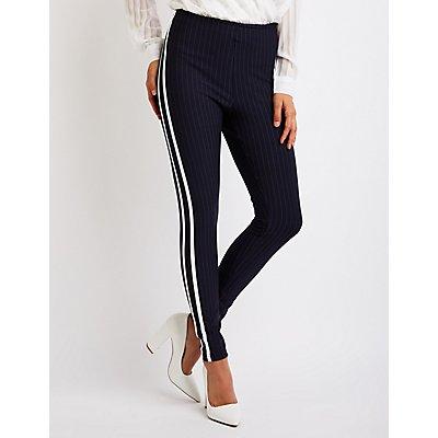 Pinstriped Leggings