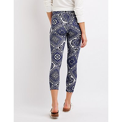 Tribal Print Leggings