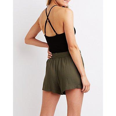 Crisscross Back Bodysuit