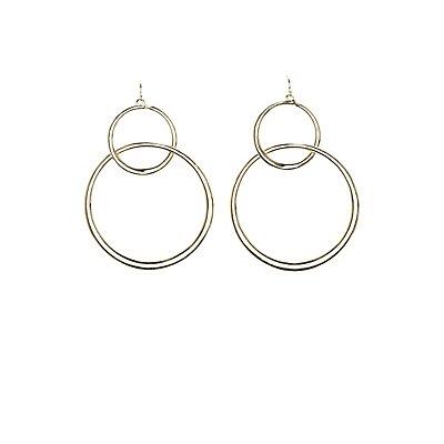 Hoop Drop Earrings