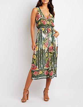 Floral Longline Tunic