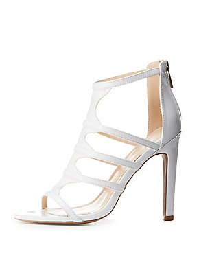 Caged Open Toe Sandals