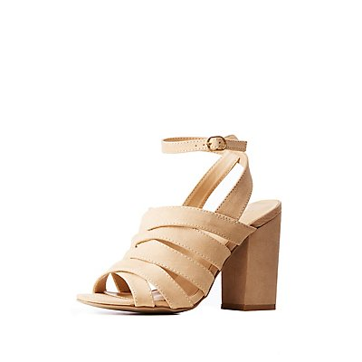 Buckle Ankle Strap Sandals