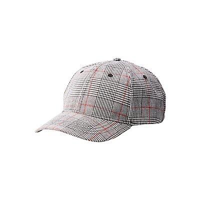Glen Plaid Baseball Hat