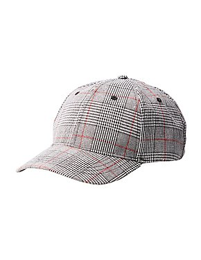 Glen Plaid Baseball Hat
