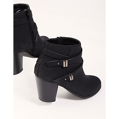 Double Harness Ankle Booties
