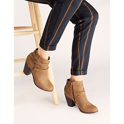 Boots And Booties Chelsea Lace Up Wedge Charlotte Russe