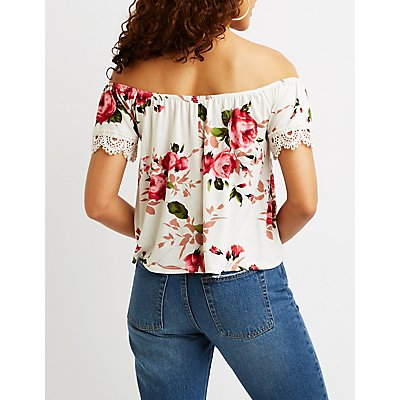Flore Off The Shoulder Top