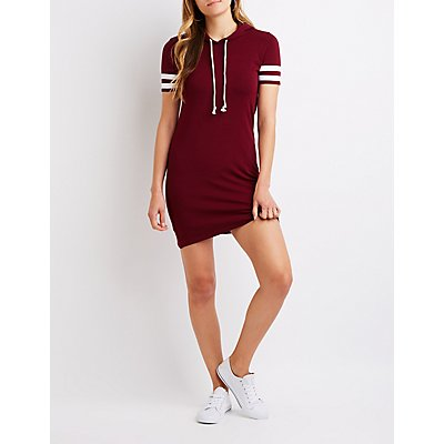 Hooded T-Shirt Dress