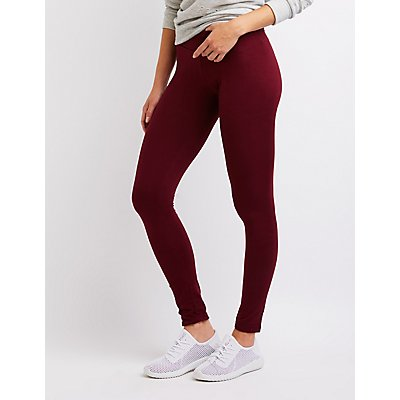 Solid Stretch Leggings