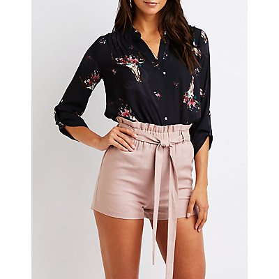 Floral Tunic Top