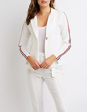 Varsity Stripe Blazer