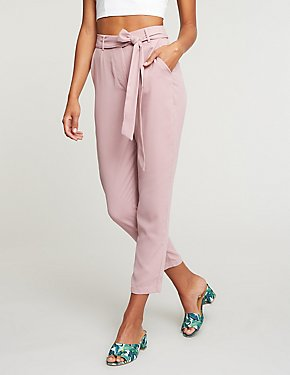 Tie Front Trousers