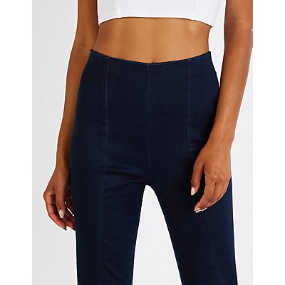 Refuge Mid Rise Pull Up Skinny Jeans