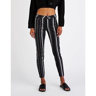 Refuge Striped Skinny Jeans